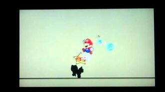 Super Paper Mario Shadoo Boss Battle