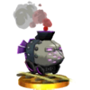 SSB3DS Armored Train Trophy