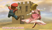 Peach Congratulations Screen All-Star Brawl