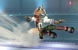 Fox dashattack