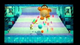 Yoshi's Woolly World Big Montegomery's Miniboss battle part 3 ( No Damage)