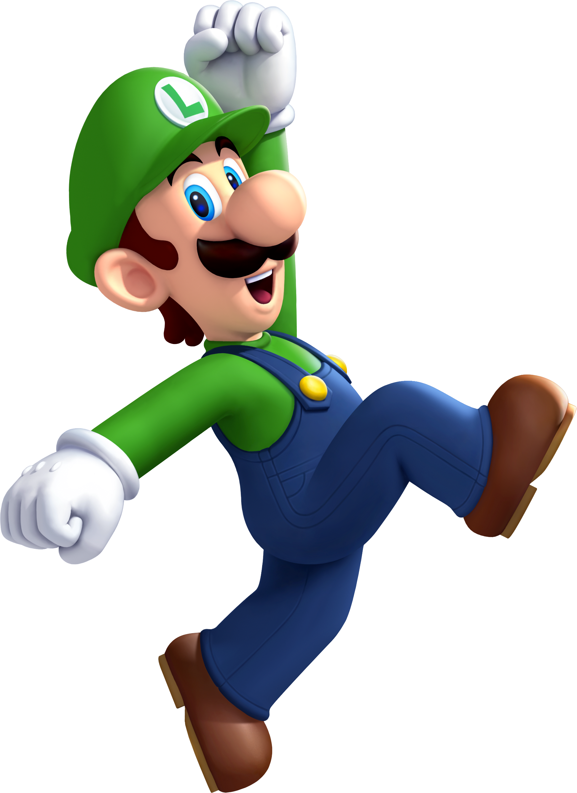 Luigi (recoloration original and SSB) by Banjo2015 on DeviantArt