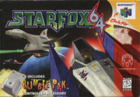StarFox64 N64 Game Box