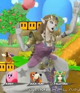 Zelda screen KO