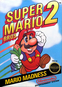Mario 2 box