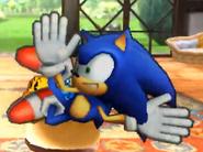 Sonic Sm4sh Screen KO