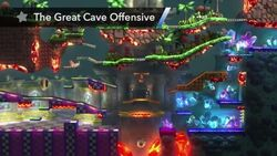 Great Cave Offensive Stage (SSBWU only)