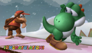 Yoshi Congratulations Screen All-Star Brawl