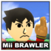 Mii Brawler Icon SSBWU