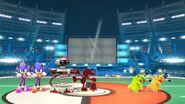 Two Pikachus - Swirly Eyes & Stunned in Super Smash Bros Wii U