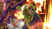 SSB4-Wii U Congratulations Captain Falcon Classic