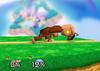 Donkey Kong Forward tilt SSB