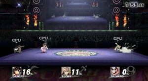 Boxing Ring Omega (Wii U)