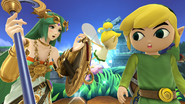 SSB4-Wii U Congratulations Toon Link All-Star
