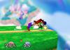Luigi Floor attack (front) SSB