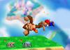 Donkey Kong Back aerial SSB
