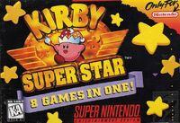 Kirby Super Star Boxart