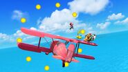 Mario Pikachu Bowser Pit On Pilotwing