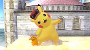 Giant Pikachu and Tiny Pikachu