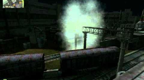 Whirligig anomaly in action - STALKER Shadow of Chernobyl