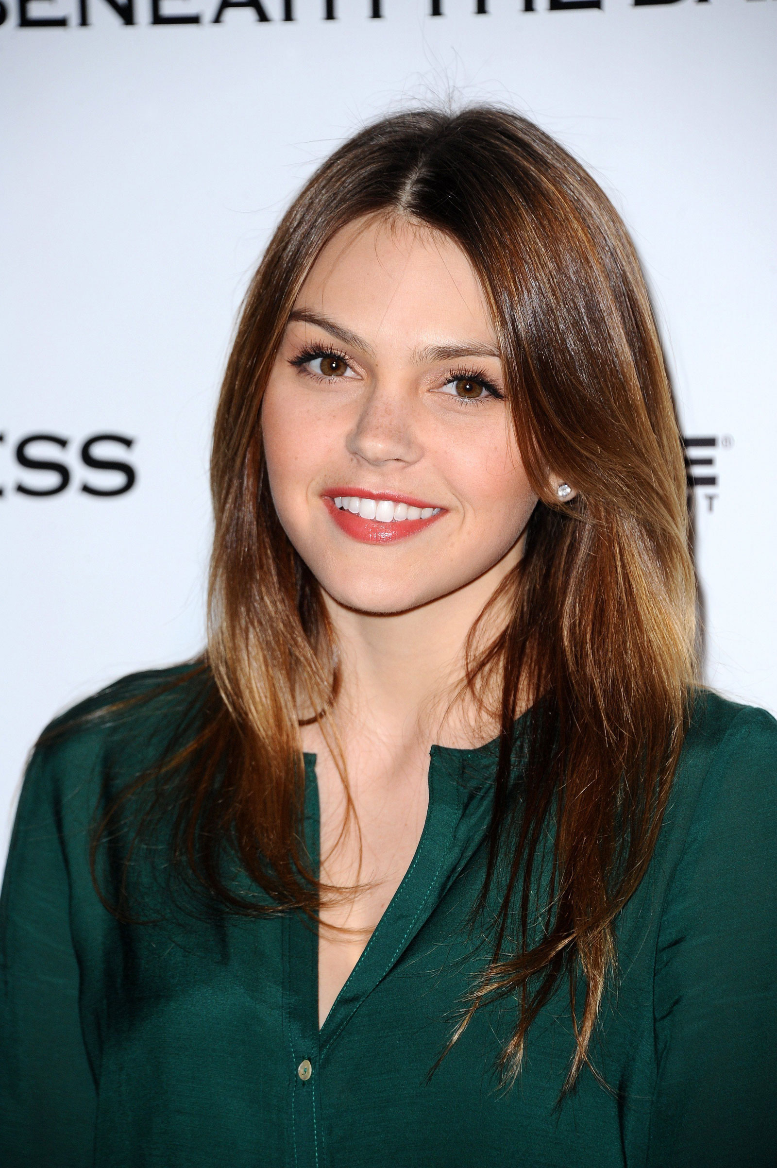 image   aimee teegarden at premiere of beneath the