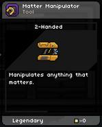 Matter_Manipulator