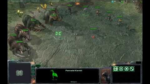 Starcraft 2 - Beta - Critters (In Game)