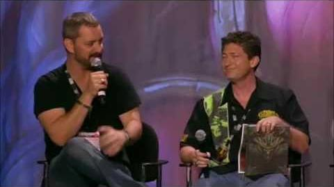 BlizzCon 2011 - Blizzard Publishing So What's The Story? Panel (Full)