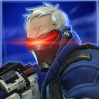 SC2 Portrait Overwatch Soldier76