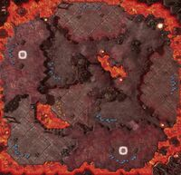 IncinerationZone SC2 Map1