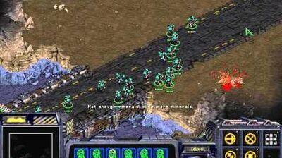 Starcraft Original Terran-Campaign Mission 3 Cinematic Desperate Alliance Walkthough Lets Play