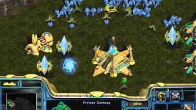 Starcraft Original Protoss - Campaign Mission 1 First Strike Walkthough Lets Play