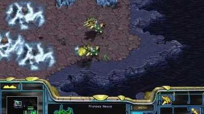 Starcraft Brood War - Protoss Campaign Mission 3 - Legacy of the Xel'Naga Walkthough Lets Play