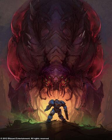 File:OverlordMarine SC2-HotS Art1.jpg