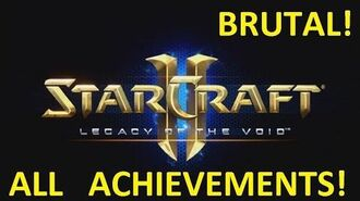 Starcraft 2 - UNSEALING THE PAST - Brutal (All Achievements) LOTV 15