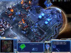 Screenshot SC2 DevGame1