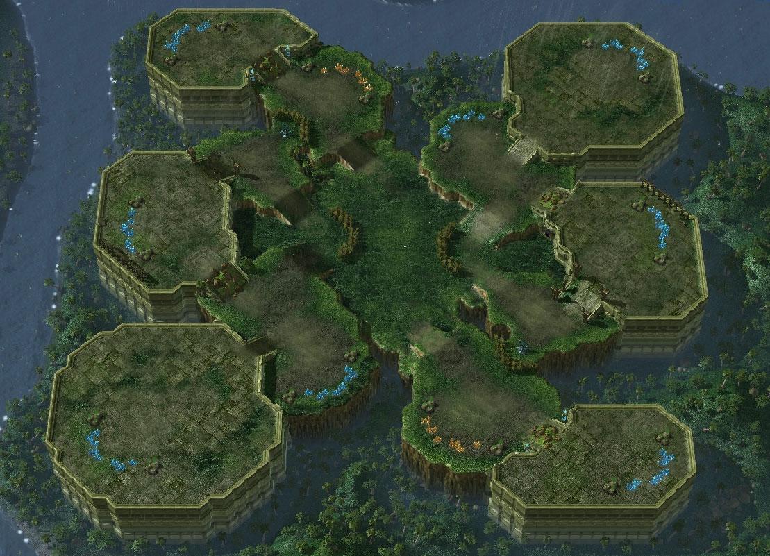 starcraft 2 battle net maps