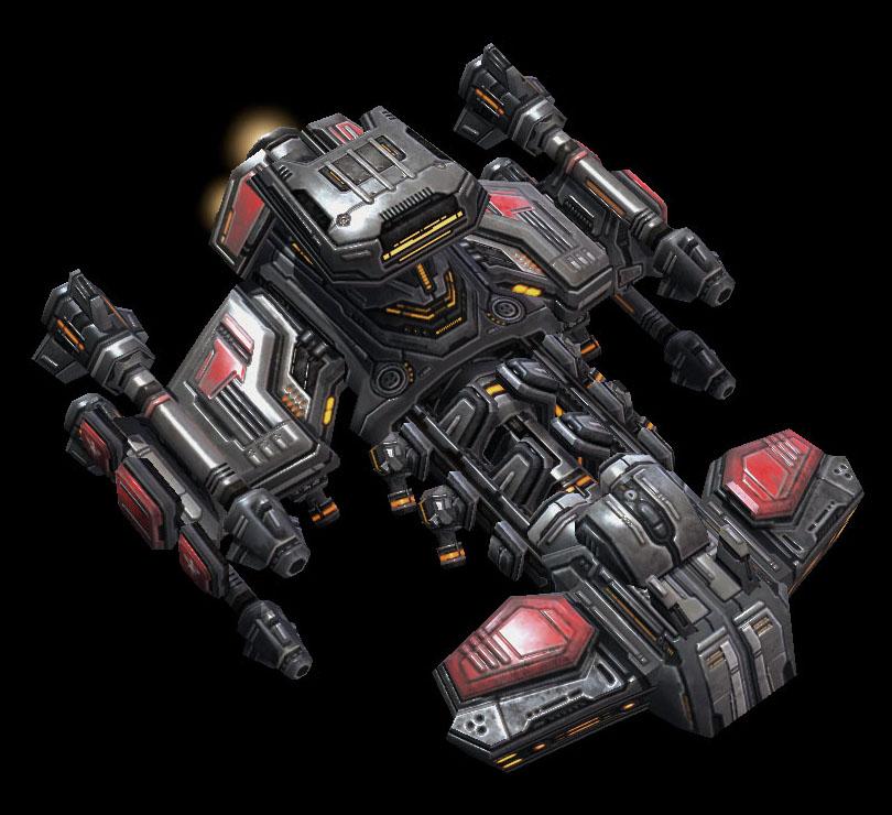 Terran Battlecruiser : The War Wolf by pokill99 on DeviantArt