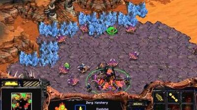 Starcraft Brood War - Zerg Campaign Mission 5 - True Colors Walkthough Lets Play