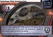 Sabotage Ship Construction