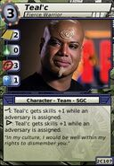 Teal'c (Fierce Warrior)