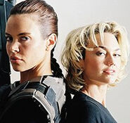 Colleen Porch y Kelly Carlson