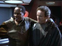 Sisko and smiley