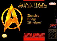 Starfleet Academy Starship Bridge Simulator (SNES)