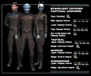 SF officer tactical uniform