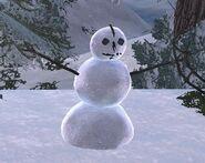 Lethean snowman