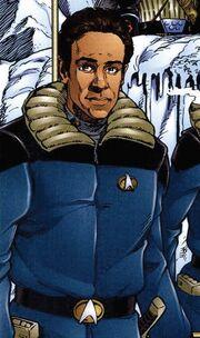 Dr Bashir heavy jacket Malibu Comics