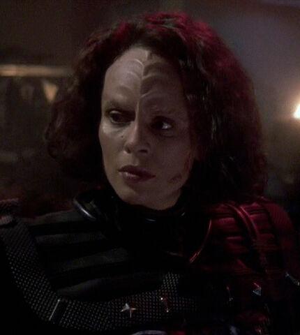 File:B'Elanna in Klingon uniform.jpg