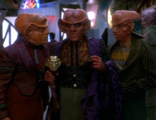 Quark as Nagus