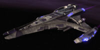 Jem'Hadar dreadnought carrier